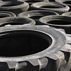 que faire des vieux pneus